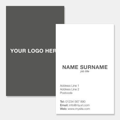 Portrait Business Card