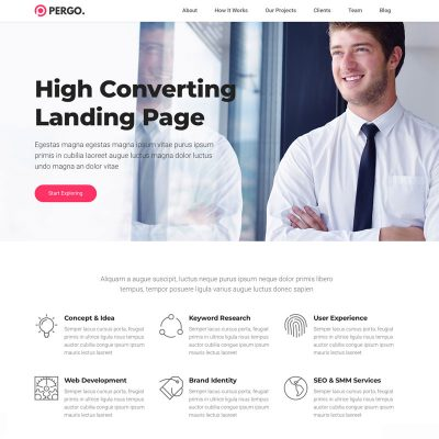 Pergo Website