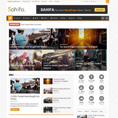 Safia Website